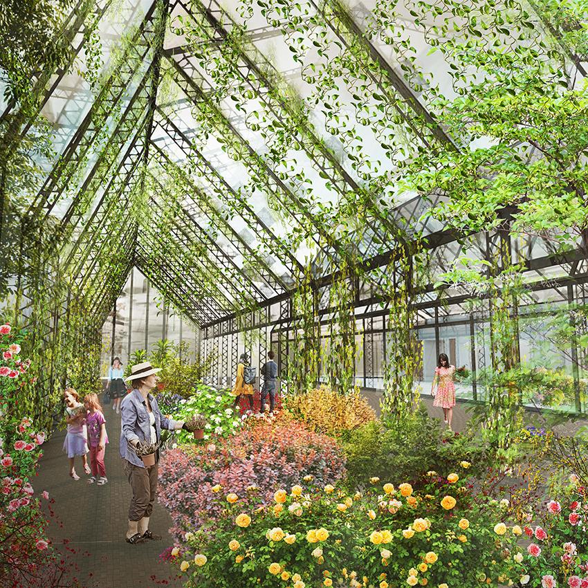 Interior Piata de flori