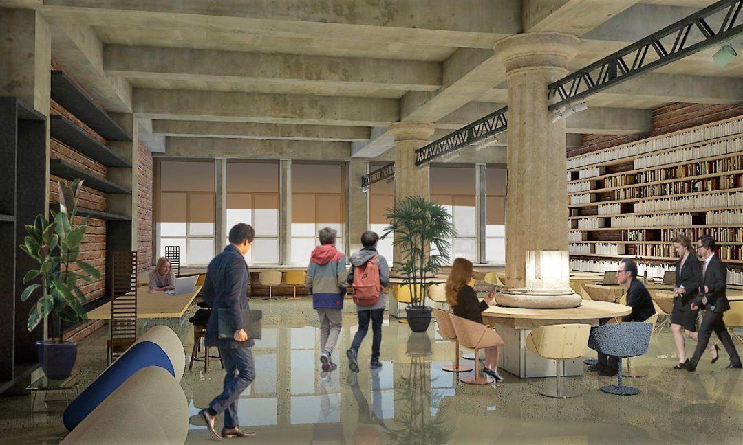 Construct Hub - propunere amenajare spatiu coworking