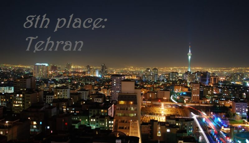 Top 10 Cities in the Middle East – 8. Tehran