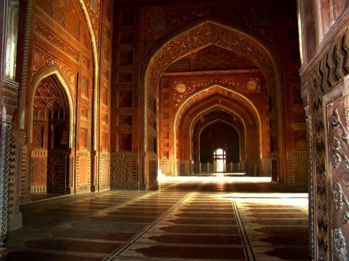 Taj Mahal interior