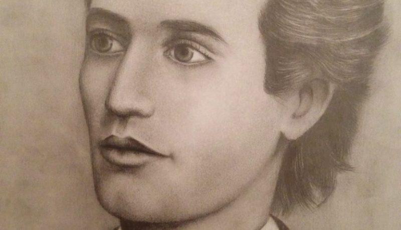 Mihai Eminescu portret