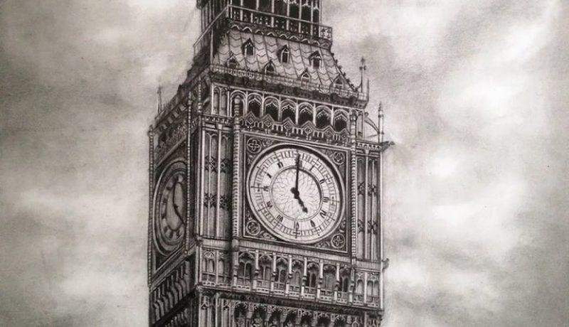 Big Ben drawing