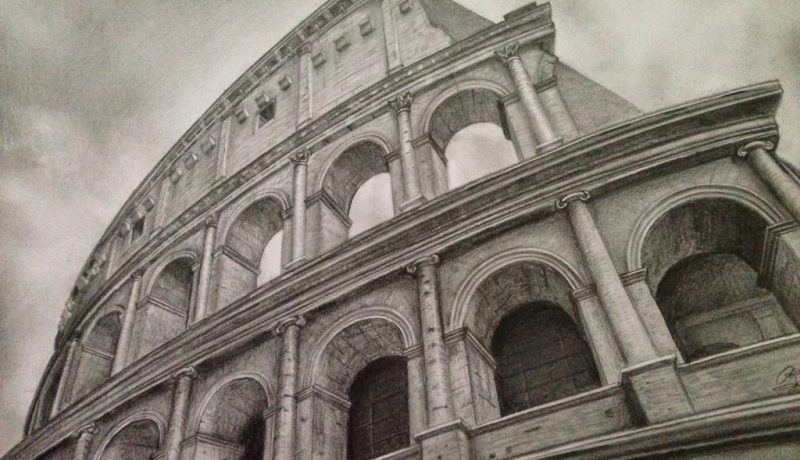 Colosseum drawing
