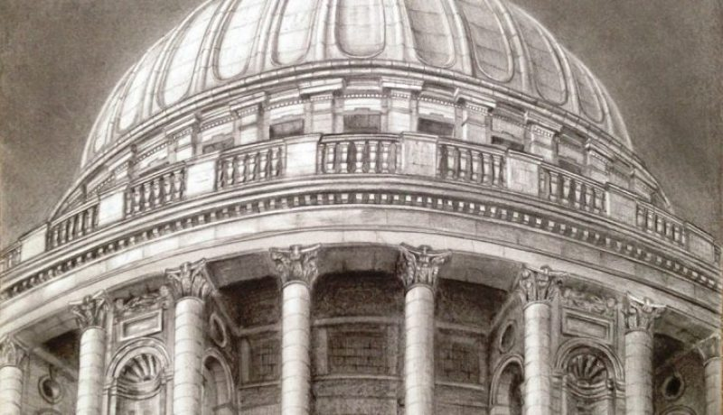 St Paul Cathedral drawing