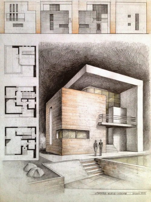 Cube house project