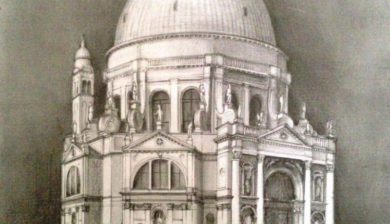 Santa Maria della Salute drawing
