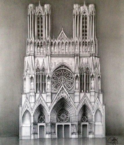Desen Reims Cathedral