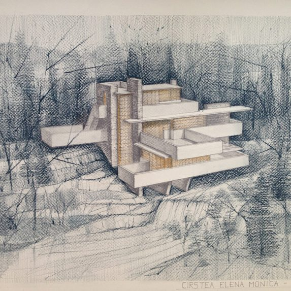 Fallingwater perspective