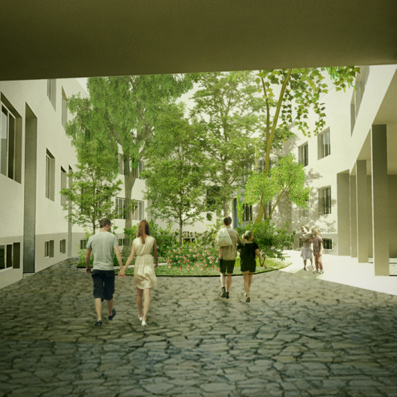 Co-housing in Arad - Monica Cirstea - Camelia Tudor