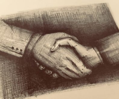 Handshake drawing
