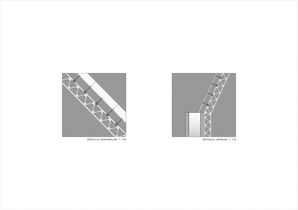Detalii structura metalica