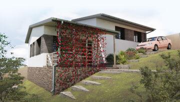 Casa Babana vedere din spatele garajului 3